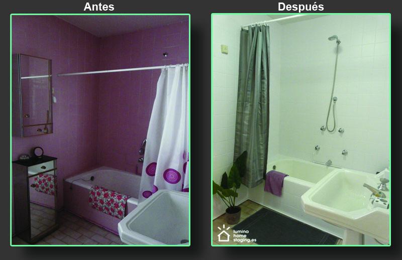 ¡Qué diferencia aporta una nueva capa de pintura: el cuarto de baño ahora transmite un aspecto invitador: limpio, moderno y fresco!